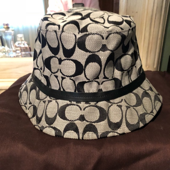 f4748f3d36e Coach Accessories - Authentic Coach Bucket Hat